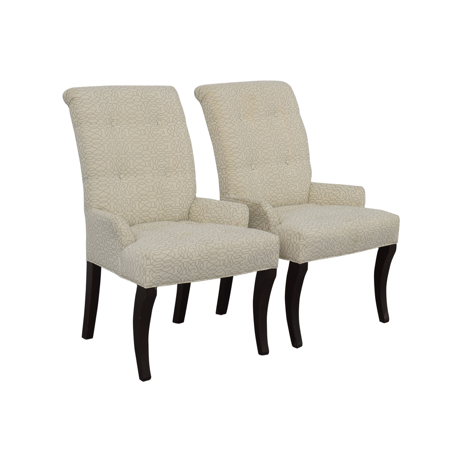 ethan allen recliners chairs wheelchair for cats 75 off jaqueline white accent