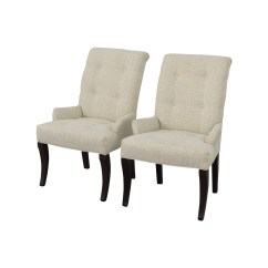 Ethan Allen Recliners Chairs Chair Futon Bed 75 Off Jaqueline White Accent