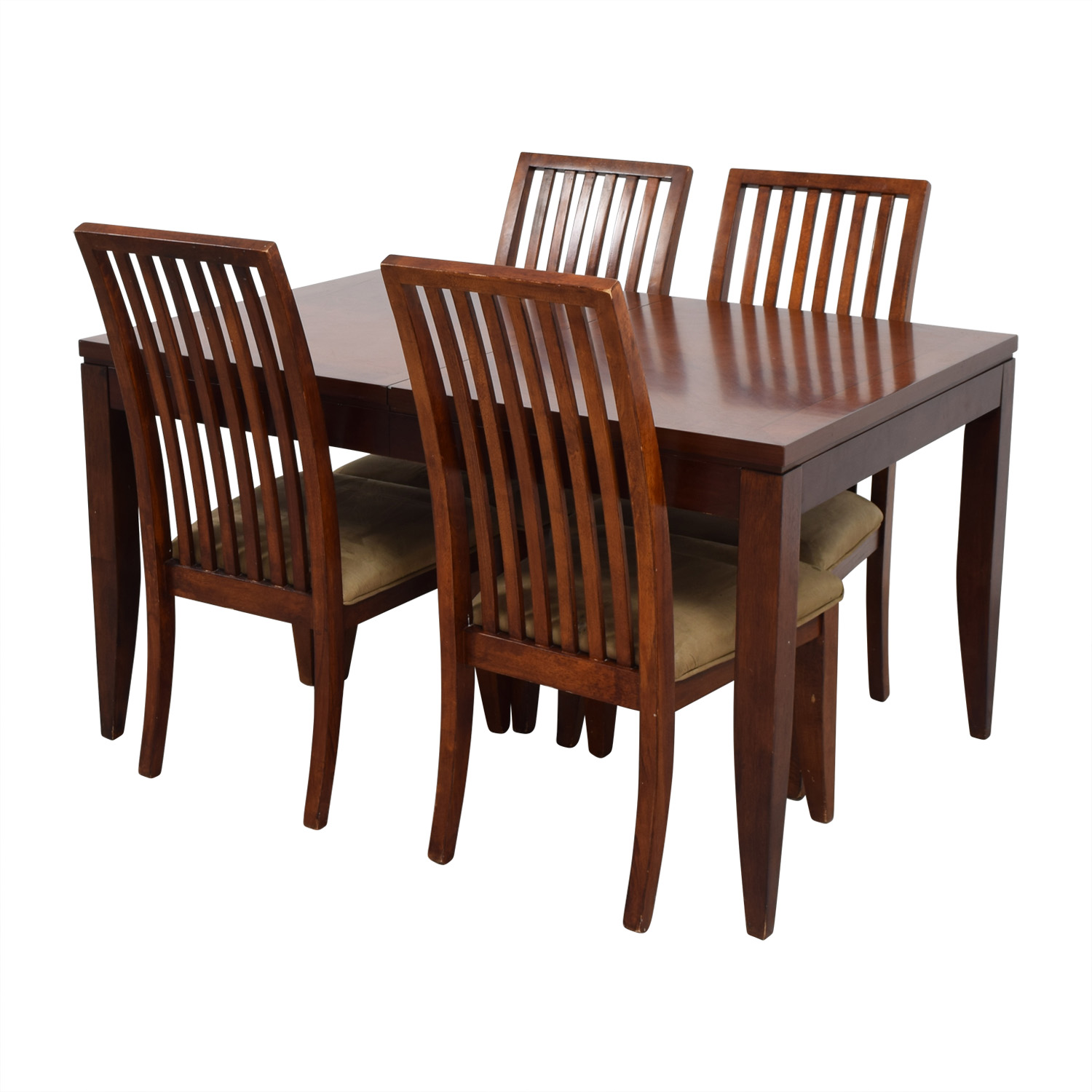 macys dining chairs buy beach 74 off macy 39s wood set with extendable