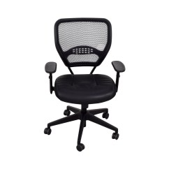 Office Star Eco Leather Chair And Half Sleeper 30 Off Black Seat