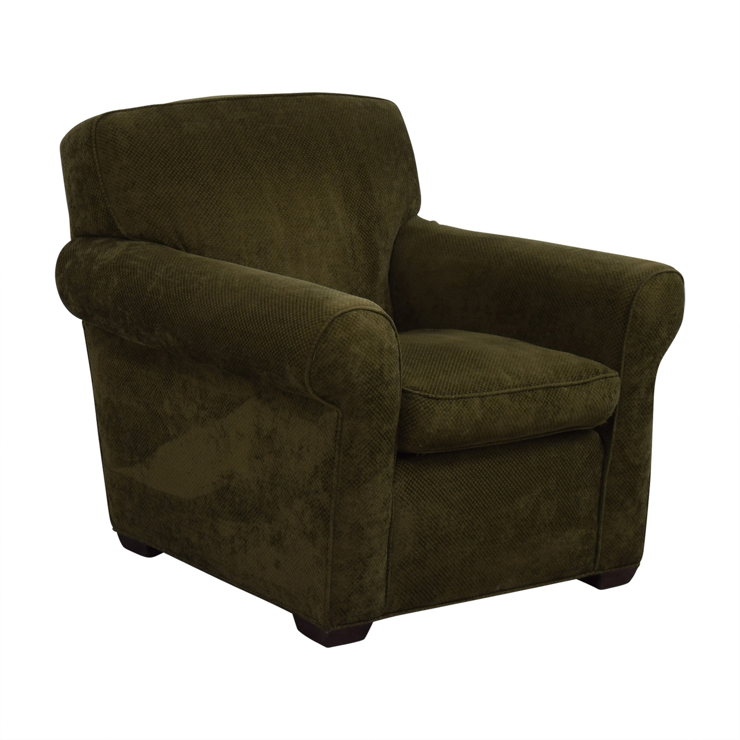 90 OFF  Large Olive Green Accent Chair  Chairs