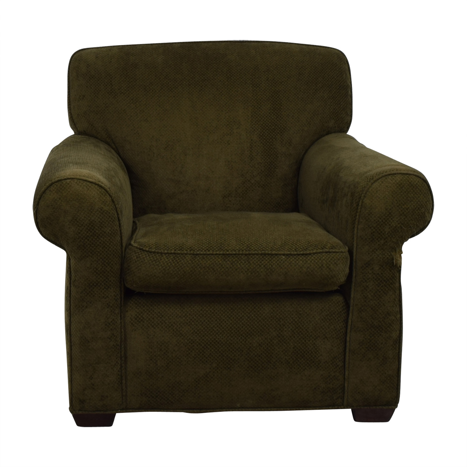 olive green accent chair office hydraulic chairs used for sale