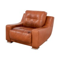 Luxury Tan Leather Accent Chair - rtty1.com | rtty1.com