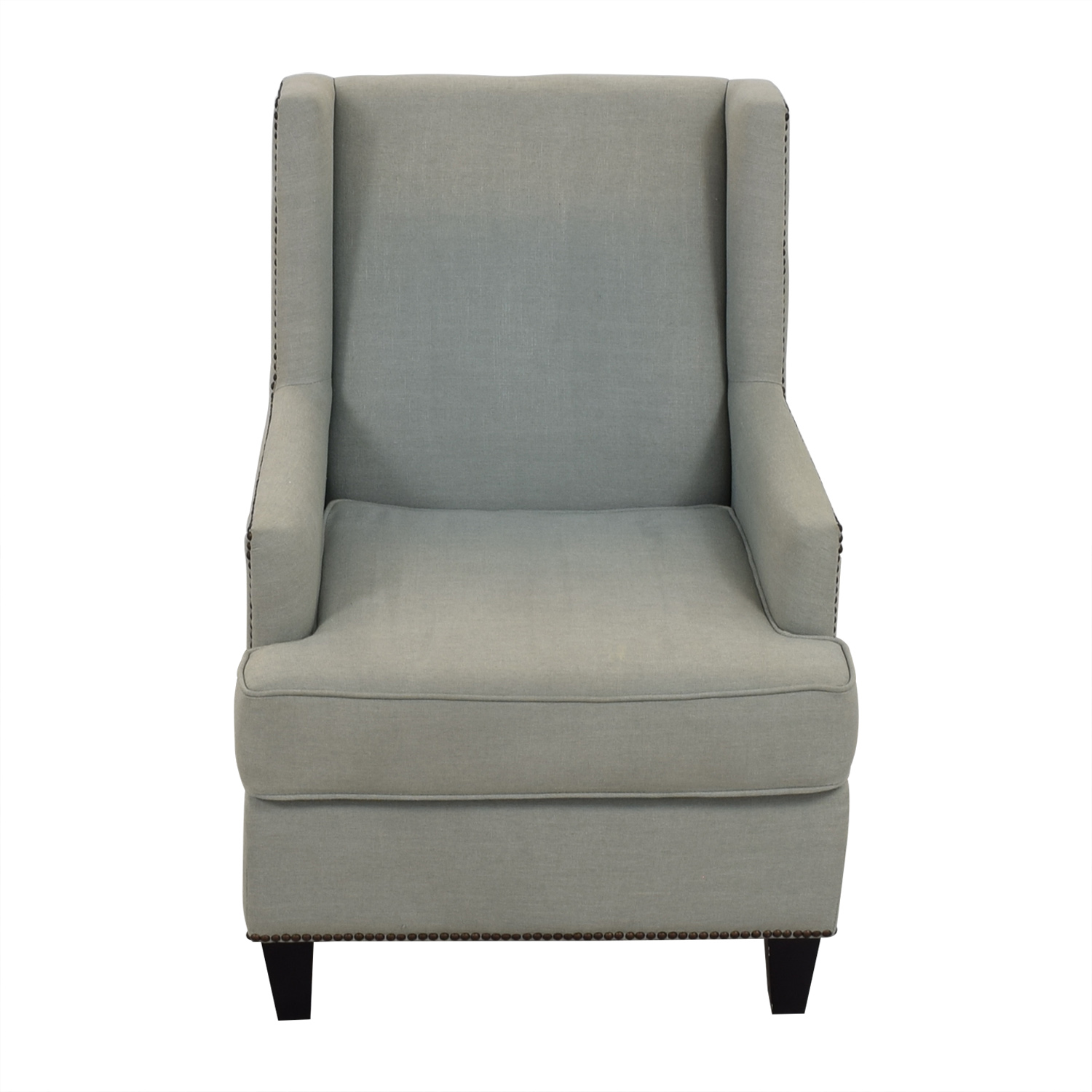 Upholstered Accent Chairs With Arms 90 Off One Kings Lane One Kings Lane Blue Upholstered