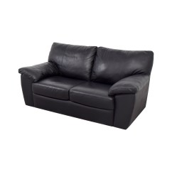 Pictures Of Sofas Double Ottoman Sofa Bed 81 Off Ikea Black Leather Two Cushion Couch