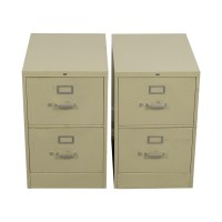 75% OFF - White 3-drawer Filing Cabinet / Storage
