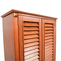 Louvered Door Cabinet & Related Post