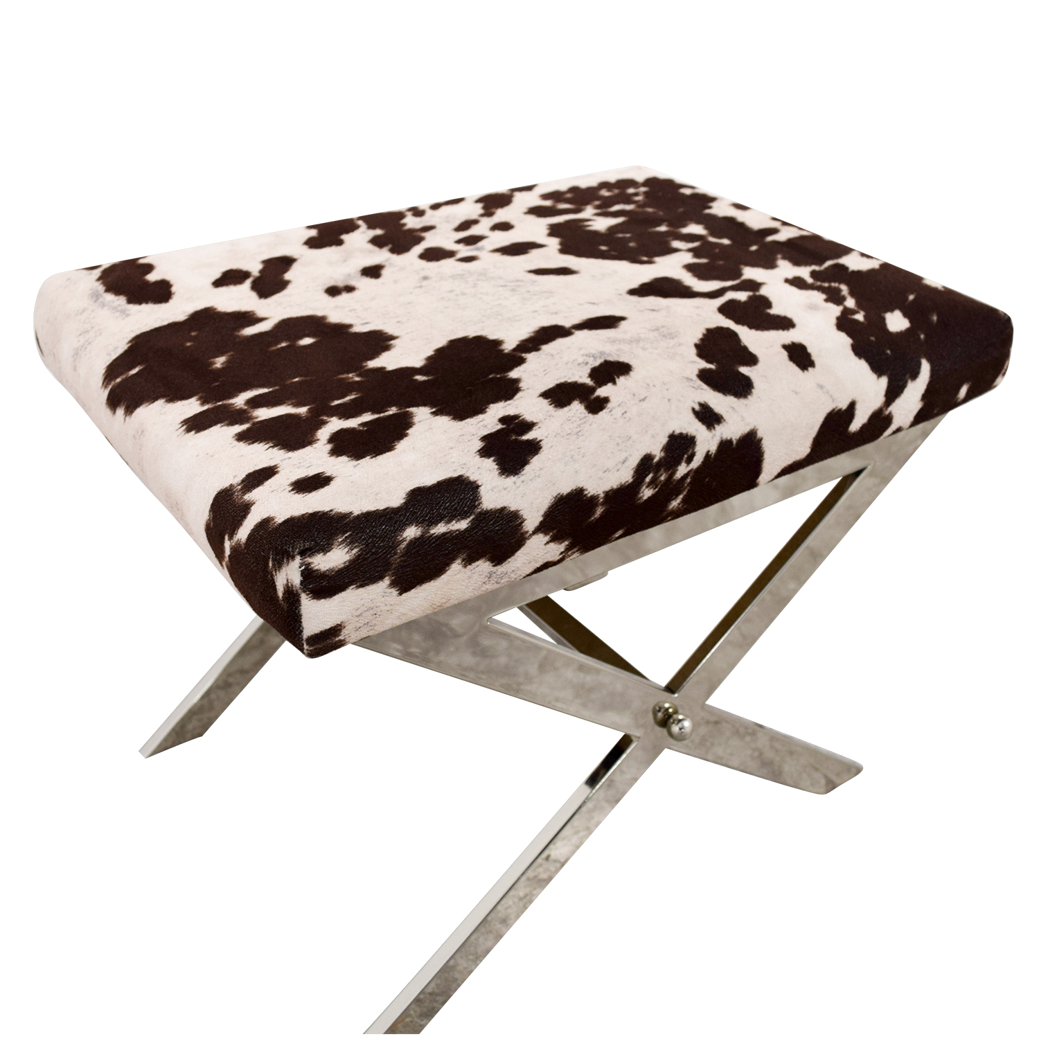 Cow Print Chair 68 Off Black And White Cow Print Stool Chairs