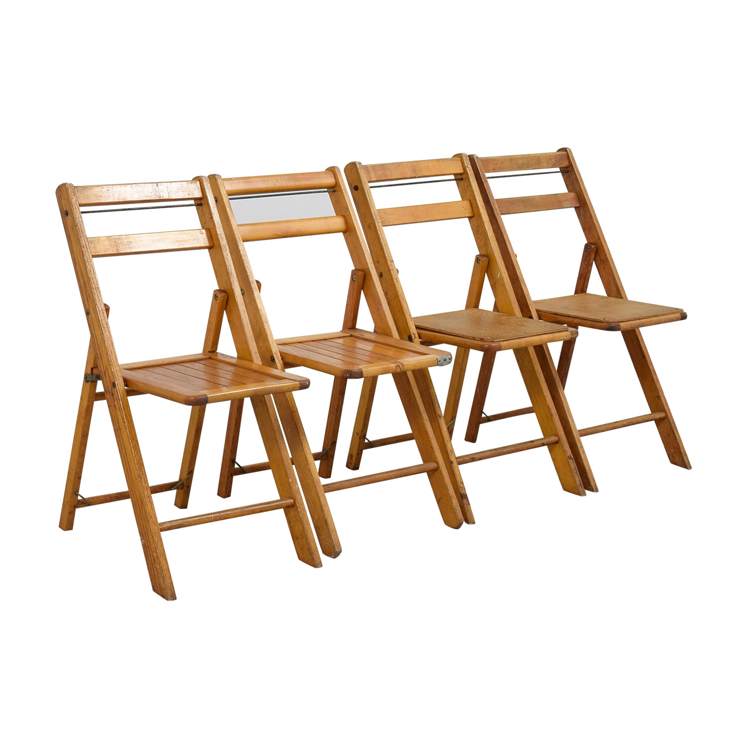Rustic Wood Chairs 68 Off Rustic Wood Folding Chairs Chairs