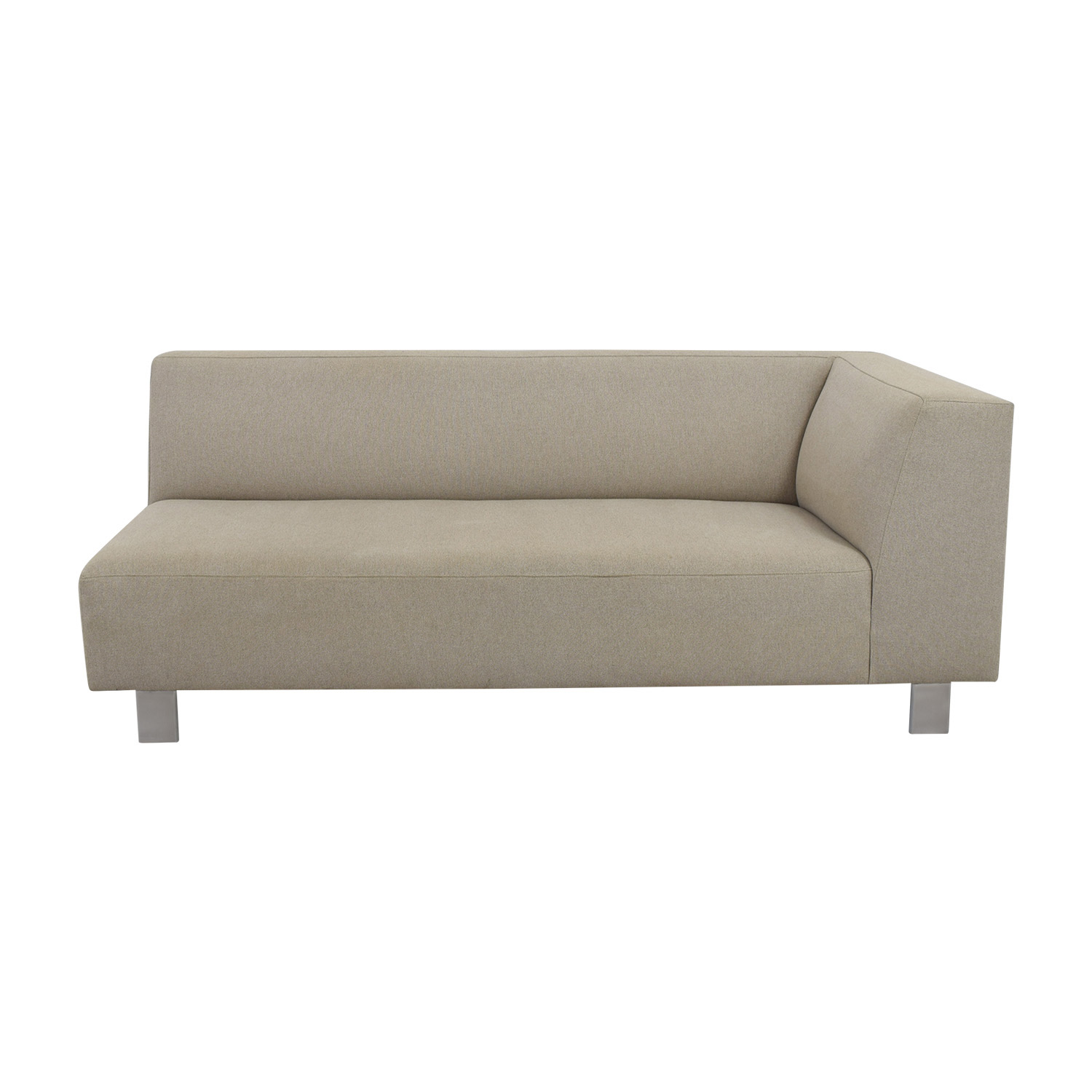 room and board chelsea sofa 3 seater wooden size chaises used for sale