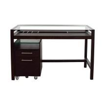 Black Wood Desk - Hostgarcia