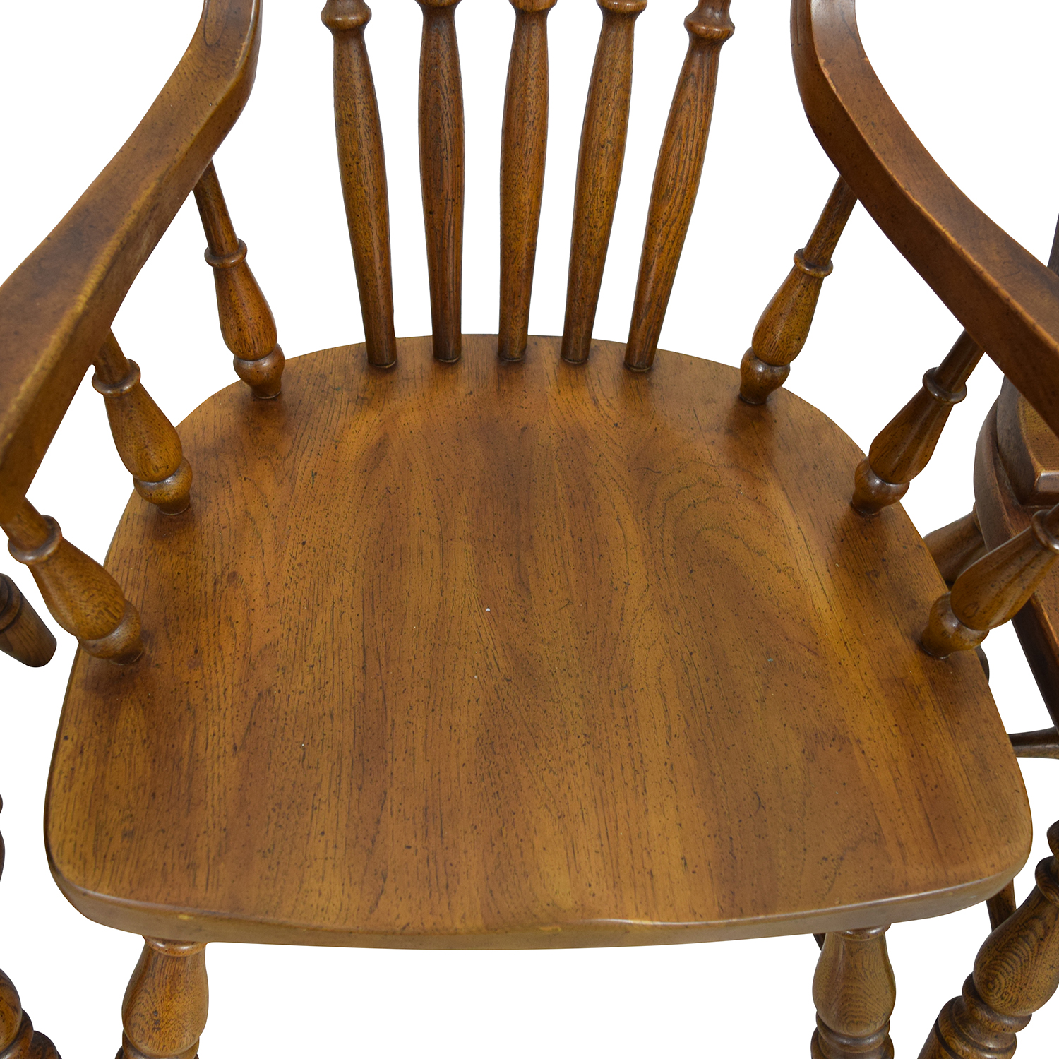 vintage oak dining chairs modern leather armchair antique furniture
