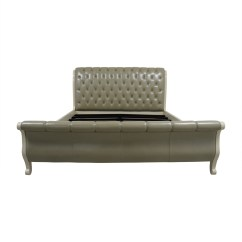 Sage Leather Sofa Pullout Bed Axel 89 West Elm Thesofa