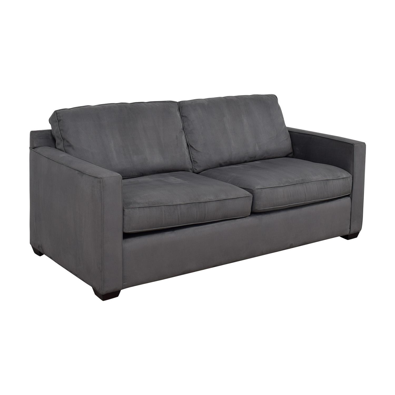crate and barrel shelter sofa dimensions balkarp bed cover 57 off davis grey
