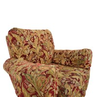84% OFF - Lazy Boy Lazy Boy Burgundy Floral Recliner / Chairs