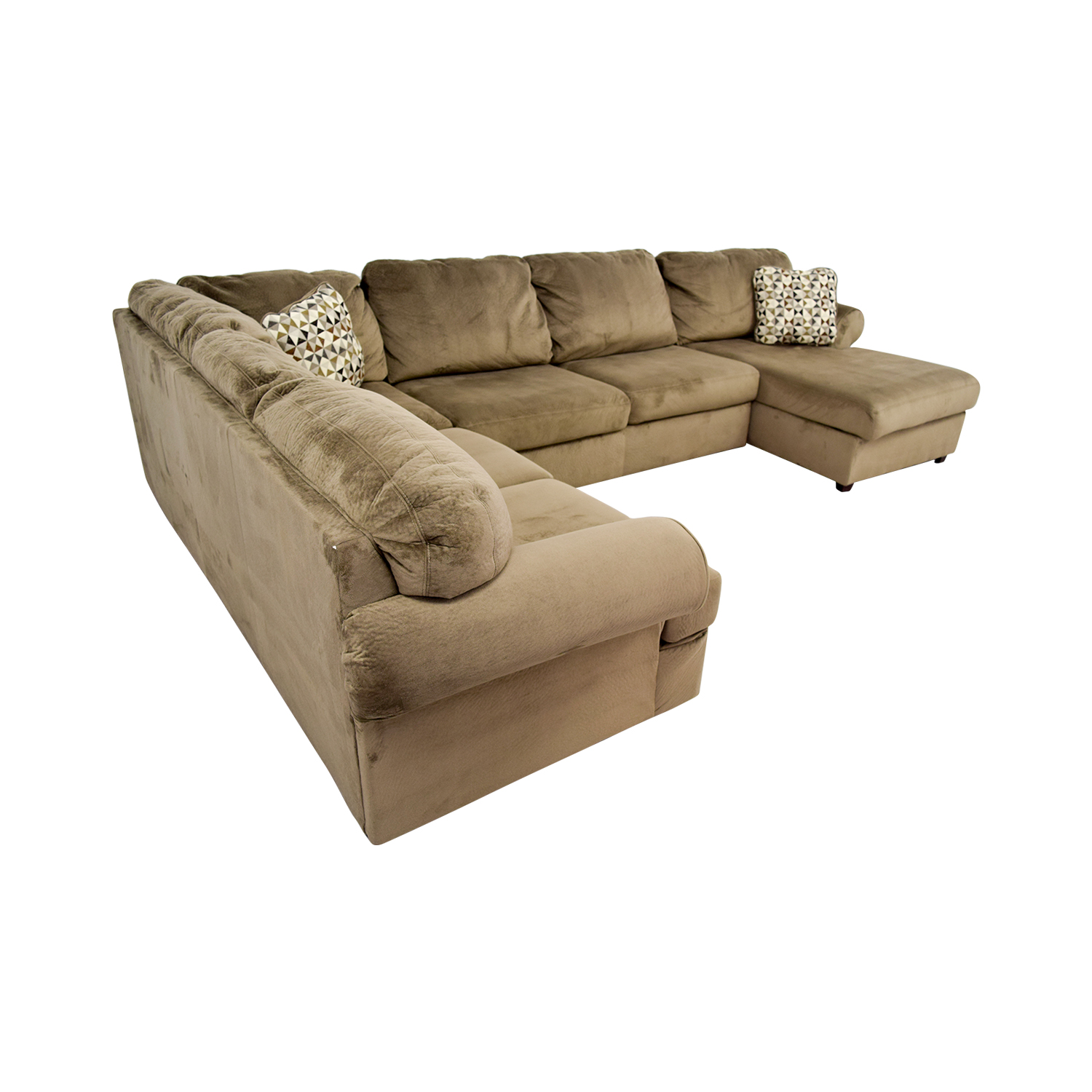 sectional sofas with recliners and bed memory foam sofa mattress topper 54% off - ashley furniture jessa place ...