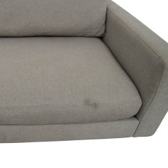 Room And Board Hess Sofa Review Gold Leather Sofas 88 Off Beige Two Cushion