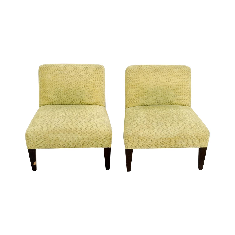 yellow club chair splat mats for high chairs 90 off custom