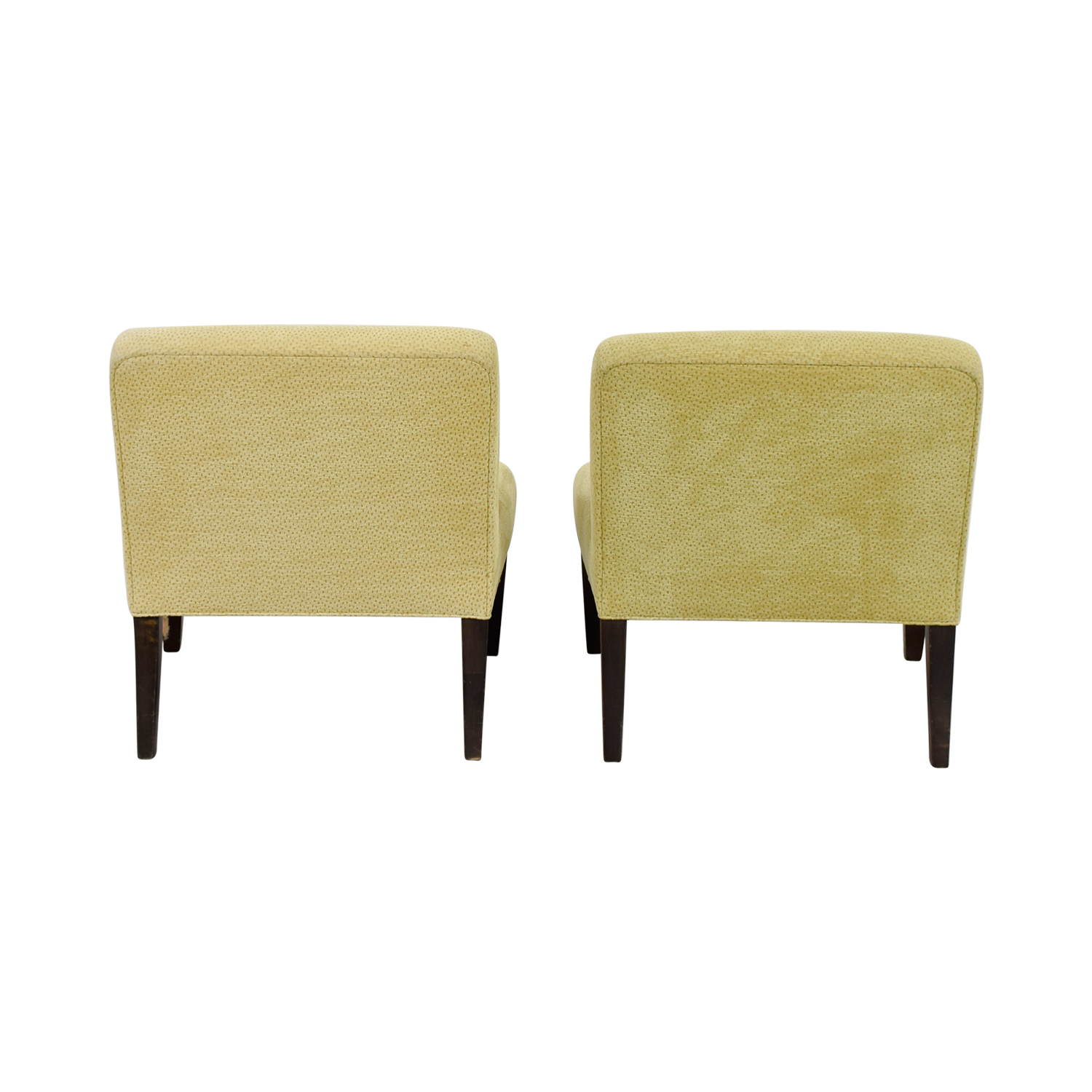 yellow club chair revolving repairs hyderabad accent chairs used for sale