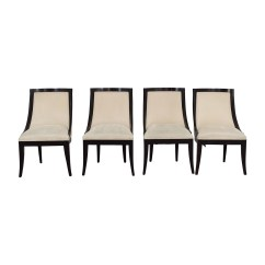 Cream Upholstered Dining Chairs Racer Computer Chair 70 Off Restoration Hardware