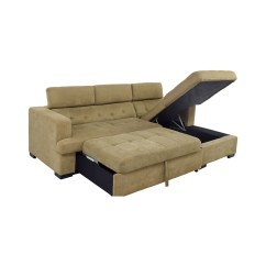 Recliner Sectional Sleeper Sofa Furniture Row Mart Colorado Springs 59 Off Bob 39s Gold Chaise