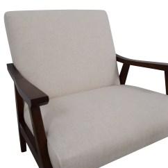 White Linen Chair Hans Wegner Ch25 57 Off Coral Springs Side