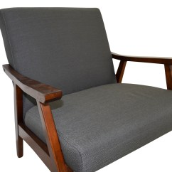 Dark Gray Chair Aluminum Rocking Lawn 70 Off Coral Springs Side