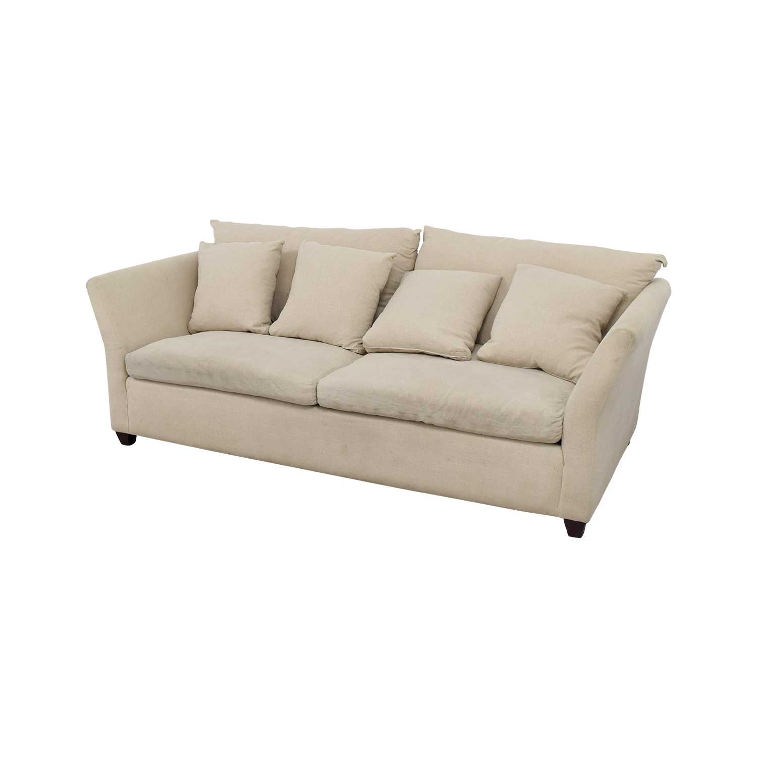 abc sofa bed gray fabric 90 off carpet and home beige