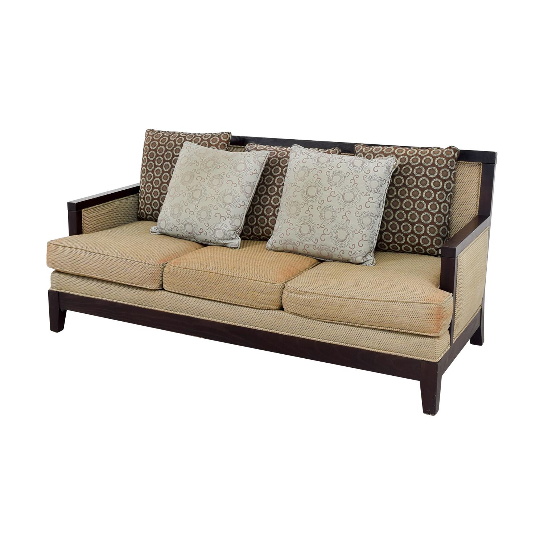 wooden sofa bed couch online kaufen frame sofas dux mid century scandinavian design