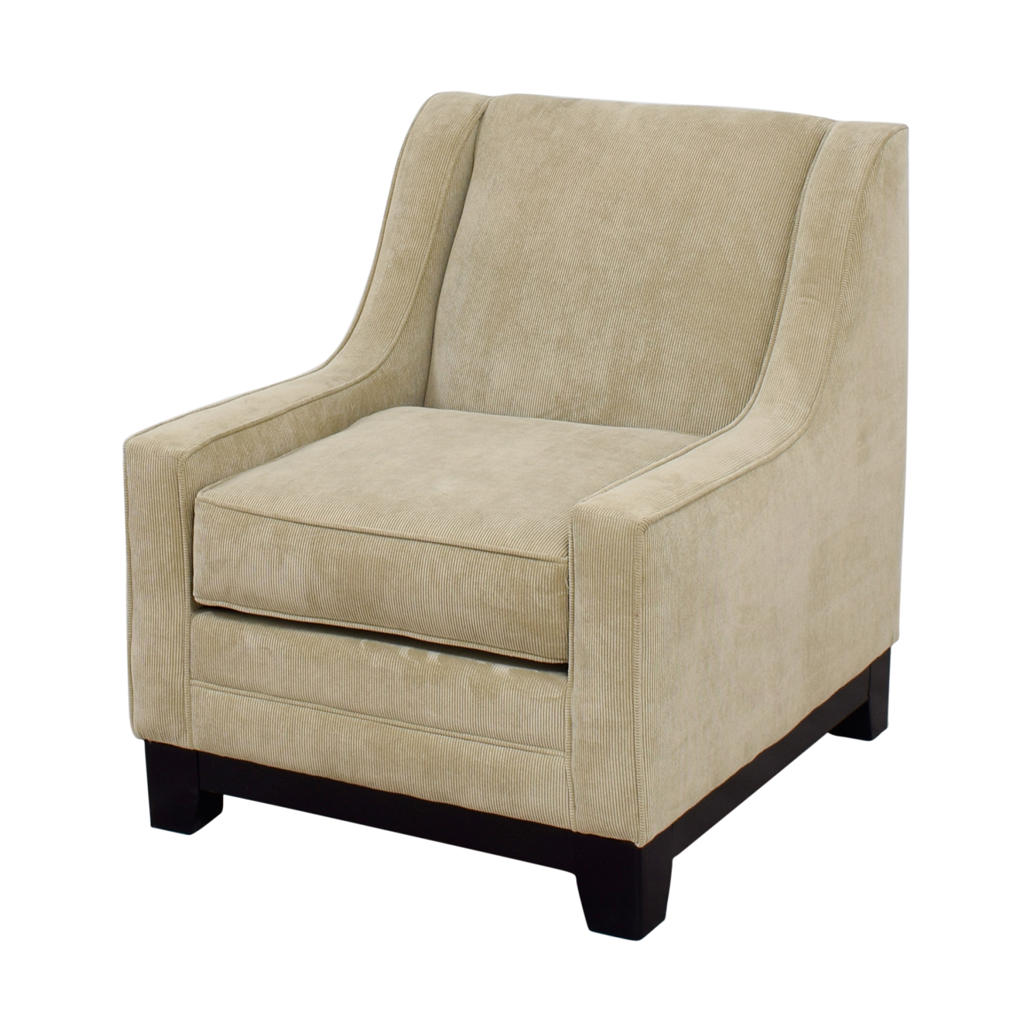 Tan Accent Chair 90 Off May Furniture May Furniture Tan Corduroy Accent