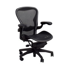 Desk Chair Herman Miller Rattan Table And Chairs 64 Off Aeron Black