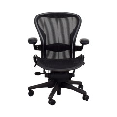 Desk Chair Herman Miller Swing Bamboo 64 Off Aeron Black