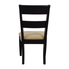 Raymour And Flanigan Chairs Queen Anne Wing Chair Recliner 90 Off Black