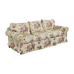Floral Sectional Sofa Foam Rubber Replacement Cushion Seats 90 Off On White Three With Curved