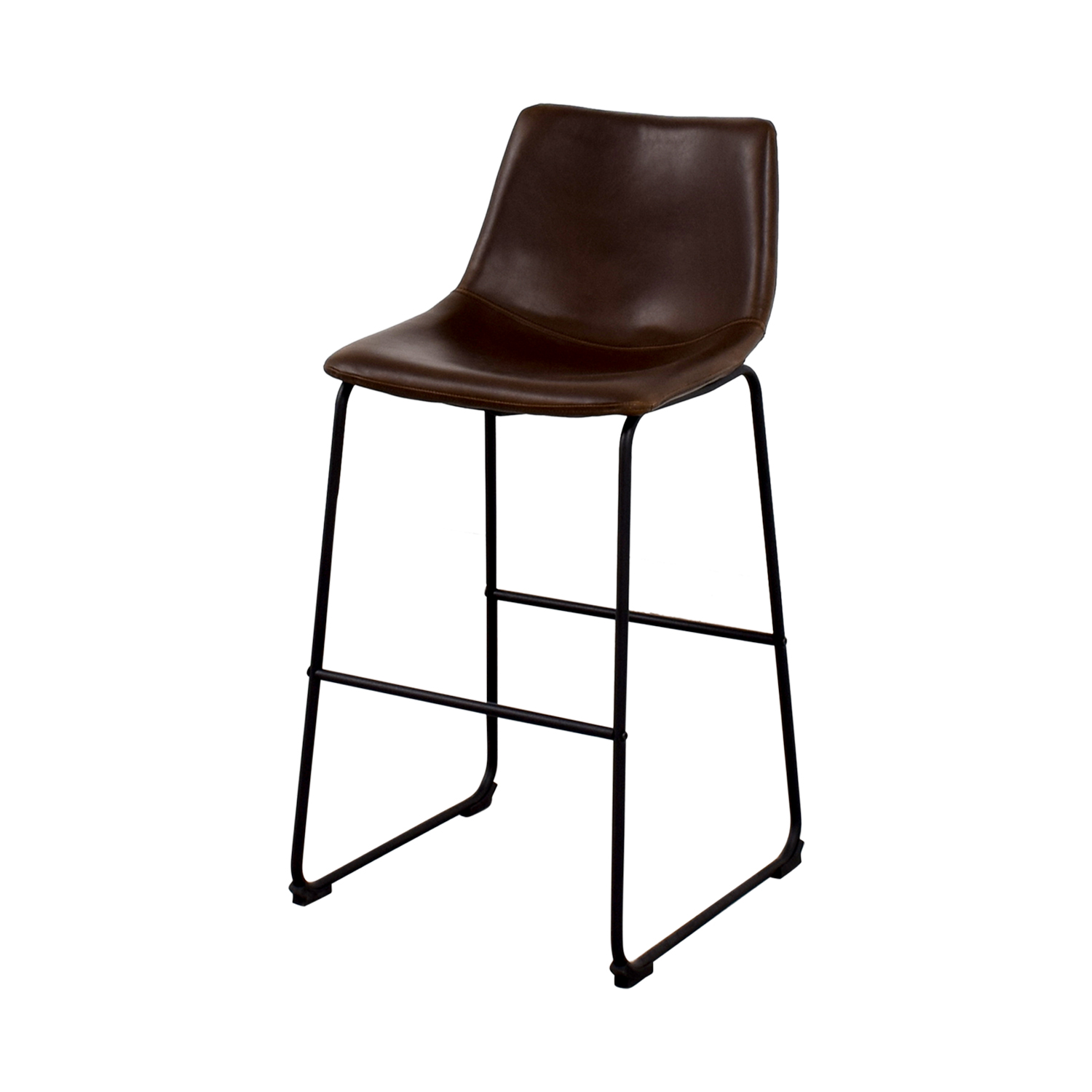 Chair Coasters 90 Off Coaster Coaster Retro Brown Leatherette Counter