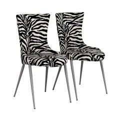 Zebra Dining Chairs Twin Chair Sleeper 90 Off European Furniture Company