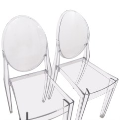 Ghost Chairs Cheap Chair Covers Etsy 75 Off Kartell Starck Victoria
