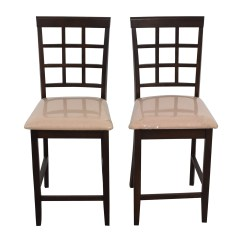 Stool Chair Second Hand Stadium Chairs For Bleachers With Arms 84 Off Cappuccino Counter Height