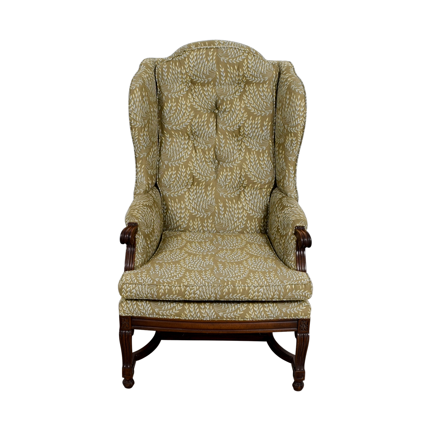 Vintage Accent Chair 77 Off Hickory Hickory Olive Vintage Accent Chair Chairs