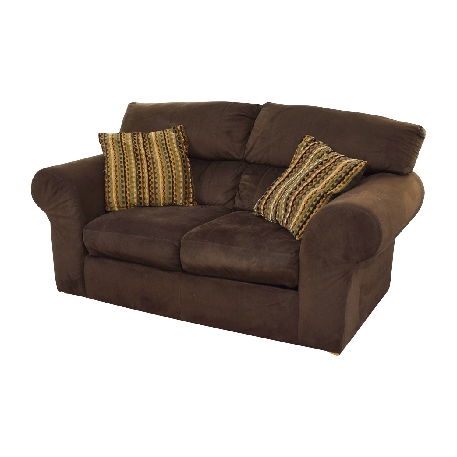 90 OFF  Bobs Furniture Bobs Furniture Brown Two