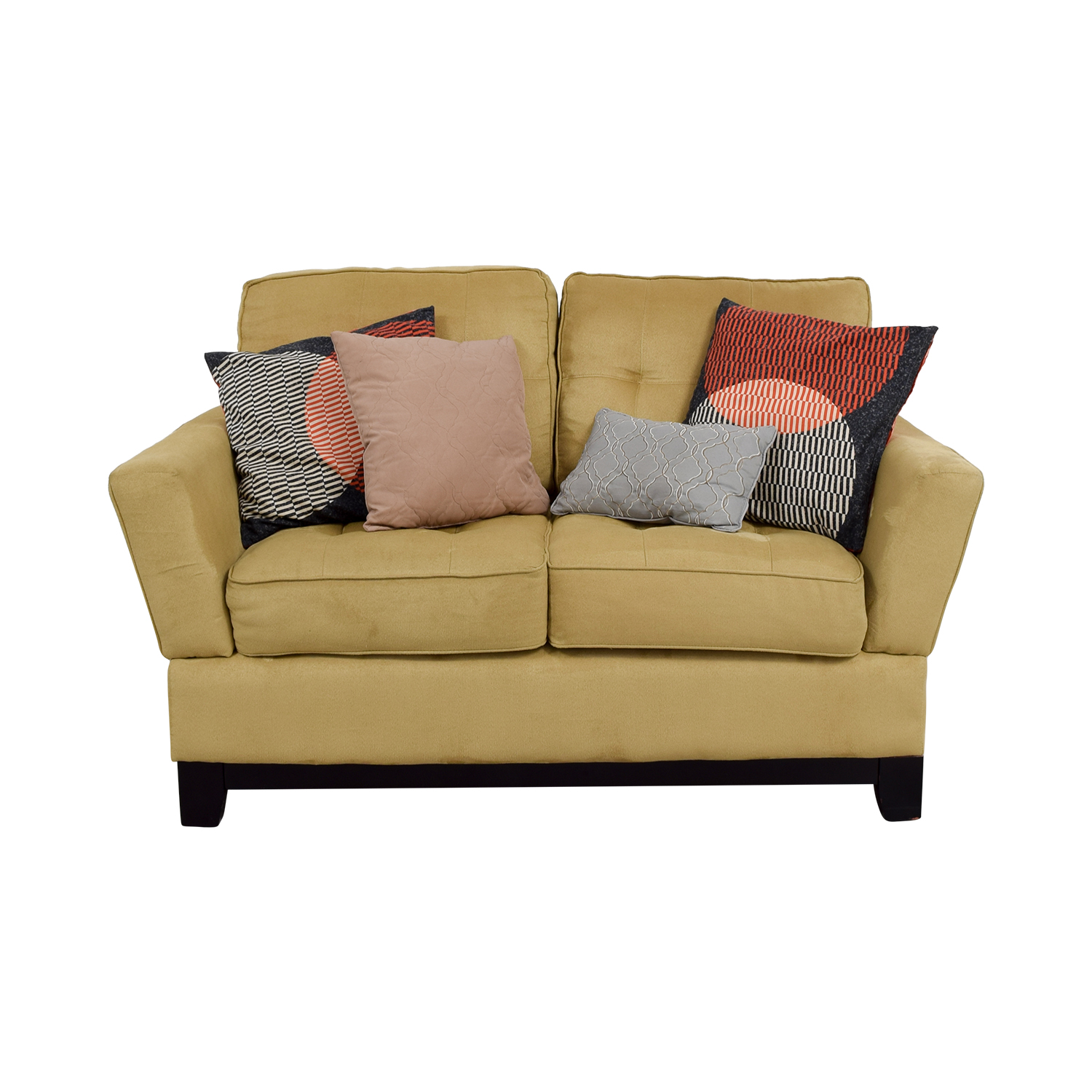 ashley furniture sofas vine sofa yellow tailya by