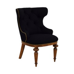 Black Tufted Dining Chair Hawaiian Swing 90 Off Furniture Masters