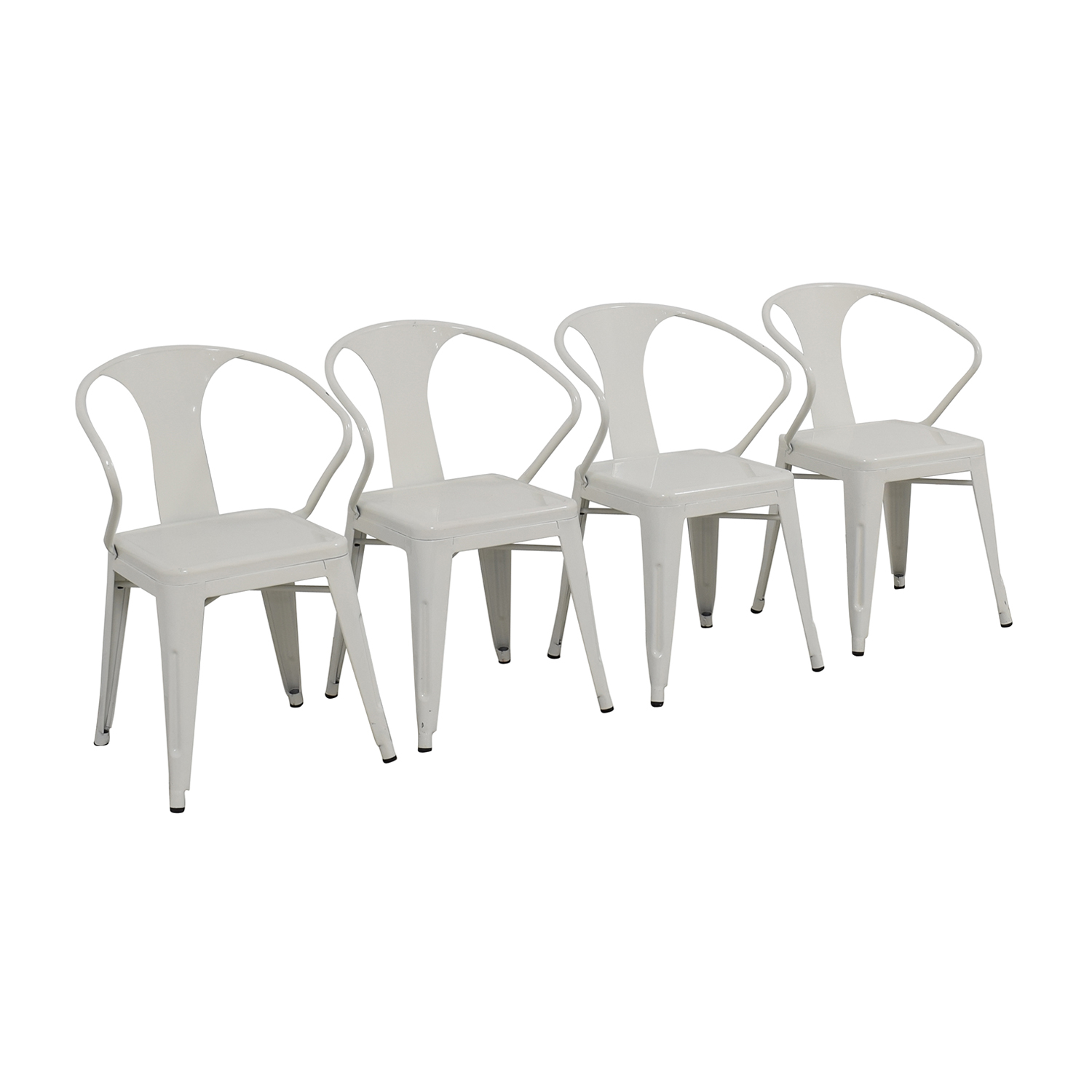 dining chairs overstock curved lounge chair plans 74 off white european