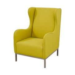Barrel Accent Chair Folding Kuwait 90 Off Crate And Neon Green