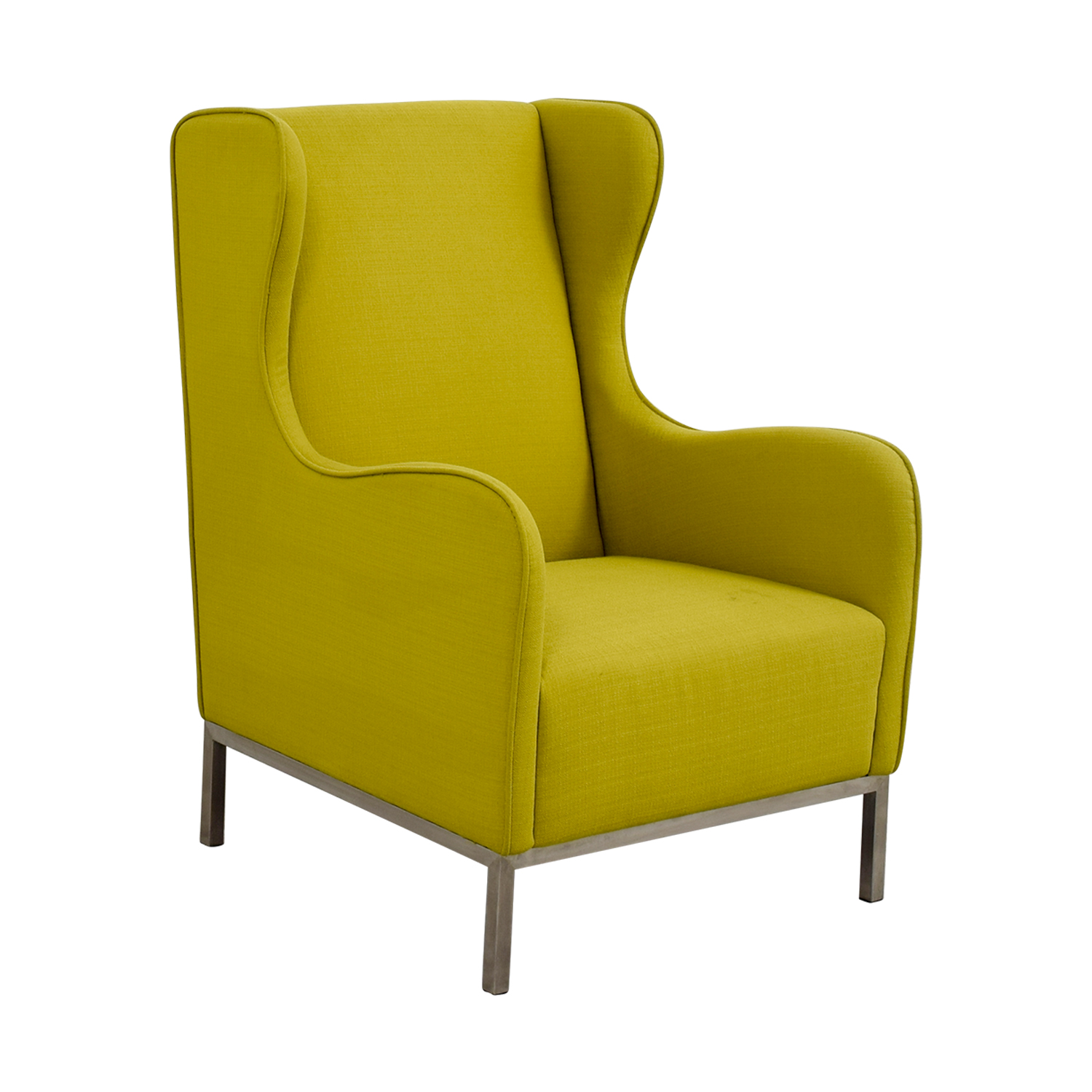 Lime Green Accent Chair Ashley Leather Living Room Furniture
