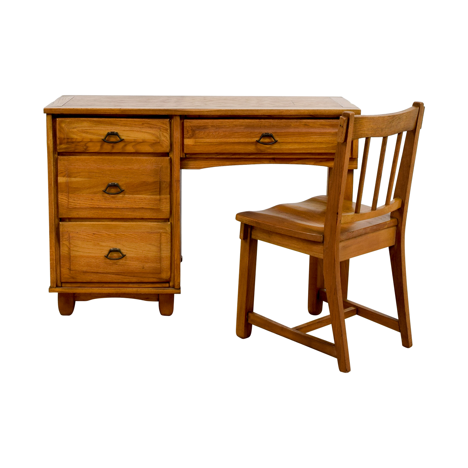 old office chair and table bath chairs for adults walmart vintage wooden desk hostgarcia