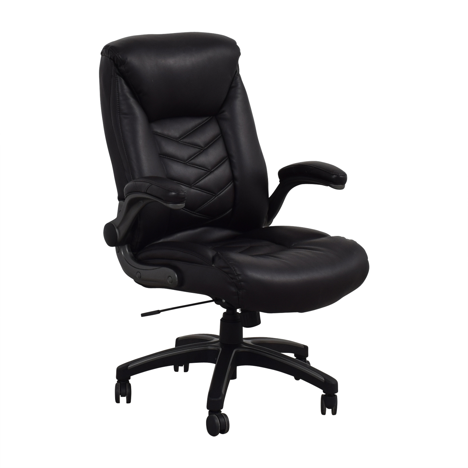 best ergonomic chairs under 500 crushed velvet chair covers ebay 90 off black leather office
