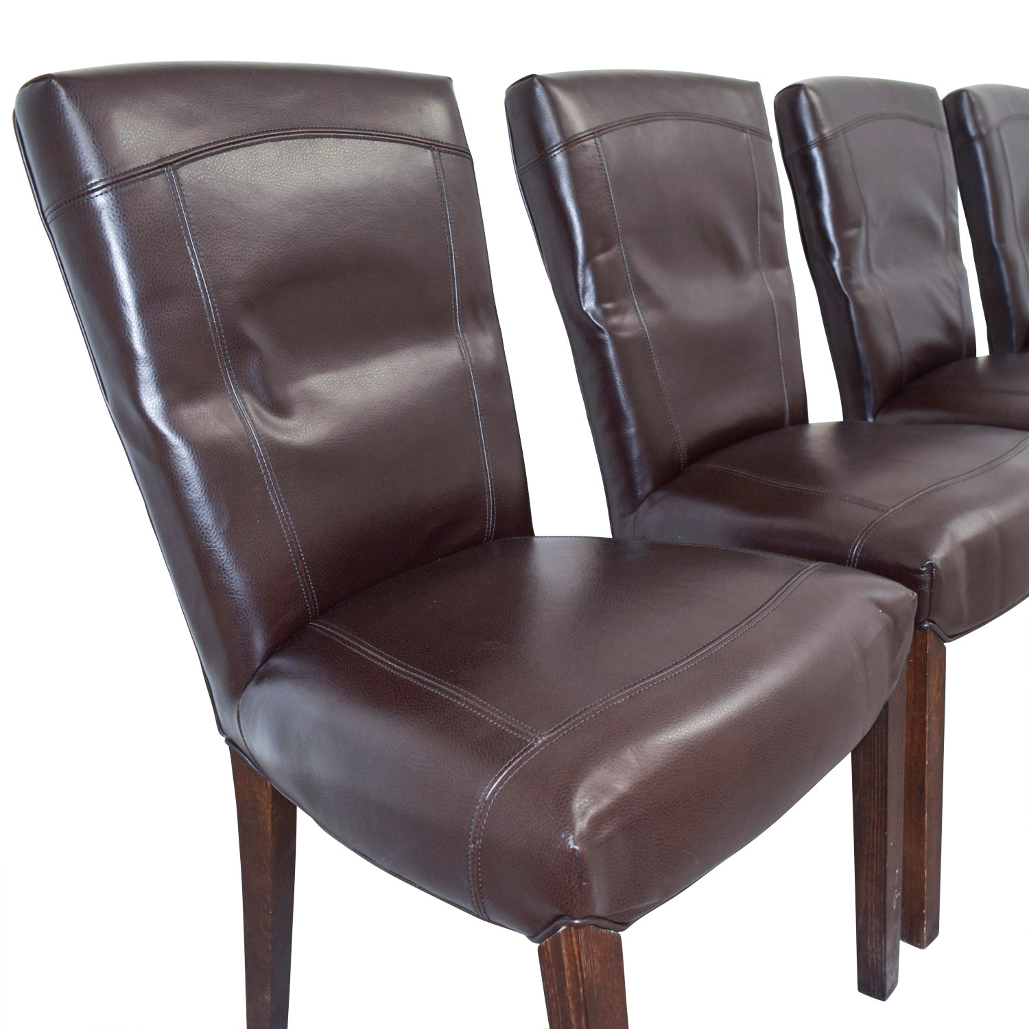 Arhaus Dining Chairs 90 Off Arhaus Arhaus Capri Brown Chairs Chairs