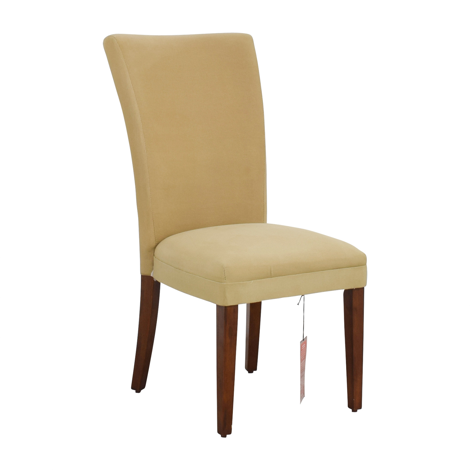 49 OFF  Coaster Coaster High Back Tan Upholstered Chair