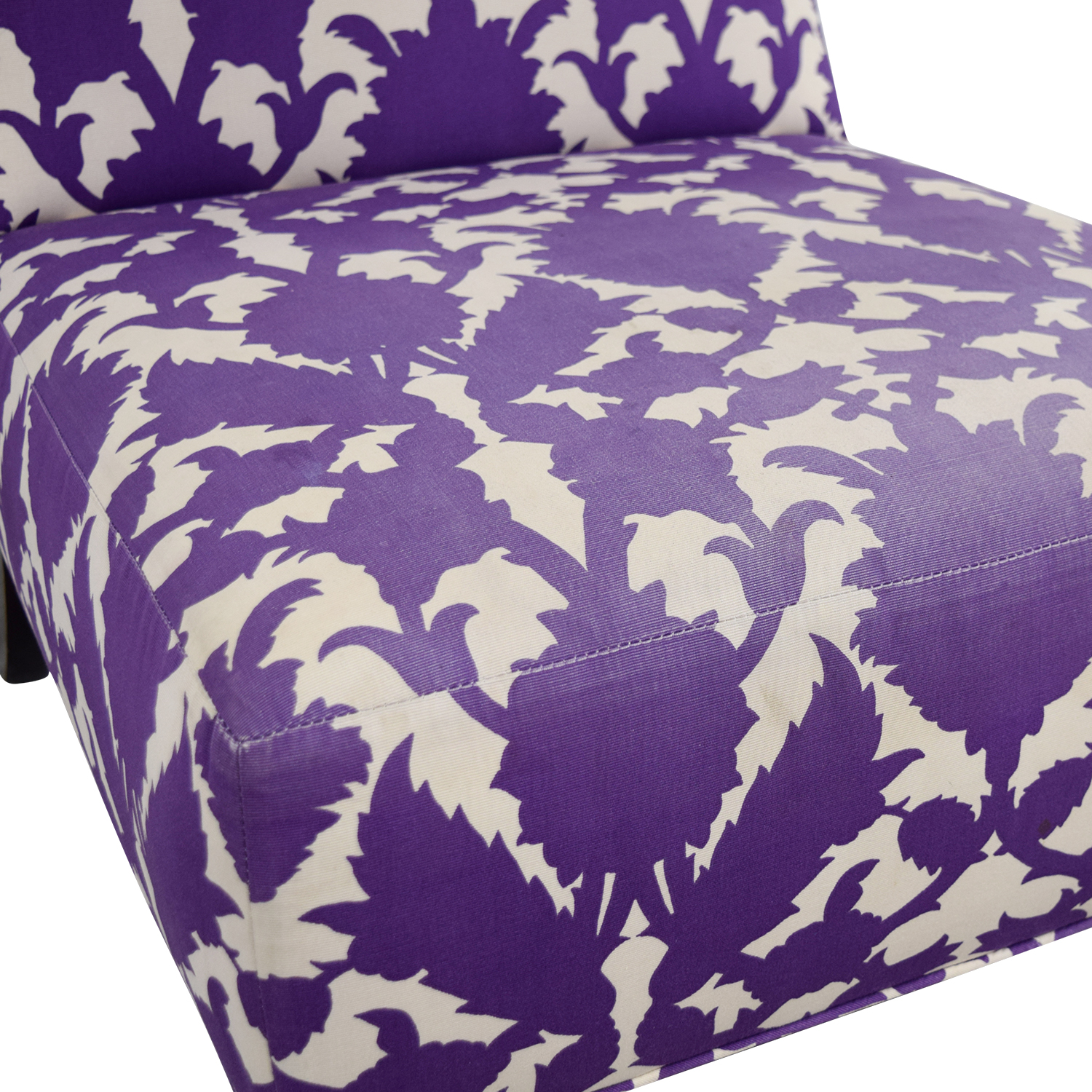 purple accent chairs sale fold up sports direct 90 off baker madeline weintraub